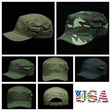 Plain Baseball Cap Cadet Patrol Military Hat Tactical Camo Army Caps Cotton Hats