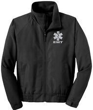 EMT economy jacket, REFLECTIVE logo fleece lining Emergency Medical,