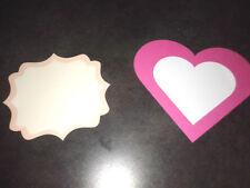 5 Segnagusto confetti confettata caramellata matrimonio segnaposto etichetta