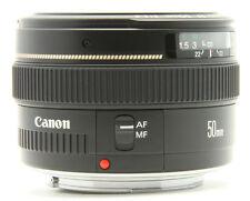Canon EF 1,4 / 50 mm USM für EOS 50mm + ES-71 + UV58