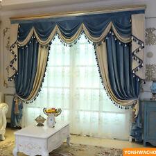 simple modern grey thick Italian velvet cloth blackout curtain valance N956