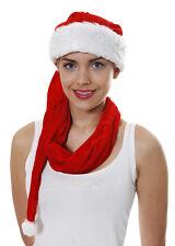 Costume babbo natale cappello / SCART Natale, misura adulto