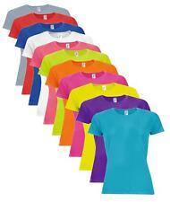 Mujer Niña Transpirable liso poliéster Deportes atléticos Camiseta