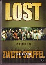 """LOST """"Zweite Staffel"""" Erster Teil 4 DVD noch versiegelt"""