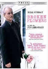 Broken Flowers (DVD, 2006, Widescreen) Bill Murray Sharon Stone NEW SEALED