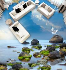 3D pietra di alba arti Pavimento Foto Wallpaper Murales Muro Stampa Decalcomania