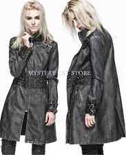 NEW Punk Rave Gothic Heavy Metal Faux Leather Jacket Coat Y-551 AUSTRALIAN STOCK