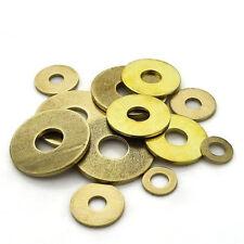 M2 M2.5 M3-M20 Brass flat brass washer ring metal retain gaskets plating washers