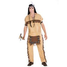 Herrenkostüm Indianer Häuptling Wilder Westen Fasching Apache Western Indianerin