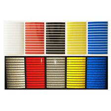 Striscie adesivi rifrangenti riflettenti scotchlite 3M serie 580 5 colori casco