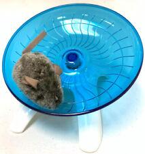 "7"" Hamster Flying Saucer Exercise Running Jogging & Spinning Silent Wheel"
