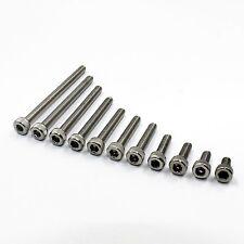 10pcs M3-M10 304 A2 Stainless Steel Socket Allen Head Cap Screw Bolt Assortment