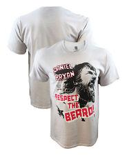Authentic WWE Daniel Bryan Respect The Beard T-Shirt Large