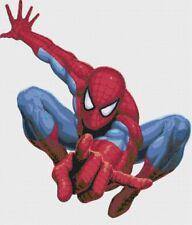 Spiderman Comic Handmade Cross-Stitch Pattern Chart by Bella Stitchery