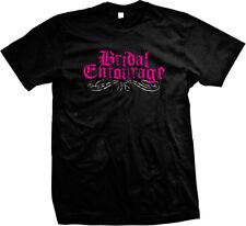 Bridal Entourage Bachelorette Party Wedding Marriage Love Mens T-shirt
