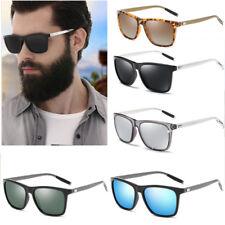 New Polarized Aluminium Sunglasses Fashion Retro Driving Mirrored Eyewear Shades
