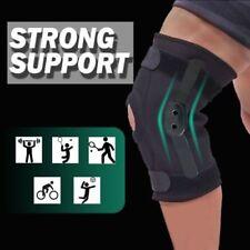 Double Metal Hinged FullKnee Support Brace Knee Protection Regular Large & XL AU