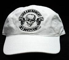 """2nd Amendment"" 100% washed cotton twill, Authentic Pigment adjustable Cap"