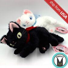 Japan Imported Designer Ribbon Cat Lying Kitten Plush Kawaii Cute Stuffed Animal