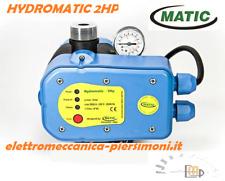 PRESSOSTATO ELETTRONICO HYDROMATIC 2HP MATIC PRESSCONTROL ELETTROPOMPA AUTOCLAVE