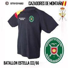 CAMISETAS TECNICAS CAZADORES DE MONTAÑA: BATALLON ESTELLA III/66  M2