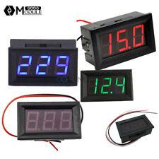 """Red/Green/Blue LED 2/3 Wires 0.56"""" AC 70-500V Digital Voltmeter DC 5V-30V/120V"""