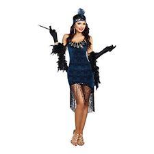 Dreamgirl Downtown Puppe Flapper 585ms 20 Erwachsene Damen Halloween Kostüm