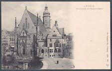 GERMANIA DEUTSCHLAND LIPSIA LEIPZIG 14 Cartolina 1900