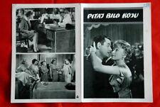 ASK ANY GIRL NIVEN MACLAINE 1959 EXYU MOVIE PROGRAM