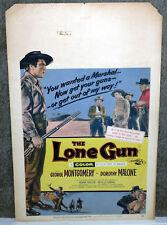 THE LONE GUN poster GEORGE MONTGOMERY/DOROTHY MALONE/NEVILLE BRAND original 1954