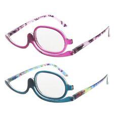 Women Makeup Magnifying Reading Glasses Flip Make Up Eye Glasses +1.00 +4.0