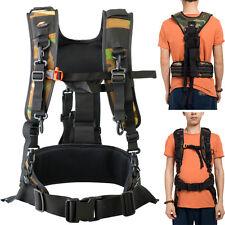 DSLR SLR Camera Shoulder Strap Waist Strap Belt Padded Camera Lens Bag Holder N
