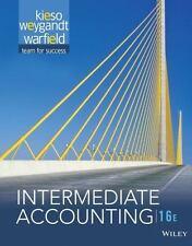 Intermediate Accounting by Terry D. Warfield, Donald E. Kieso and Jerry J. Weyga