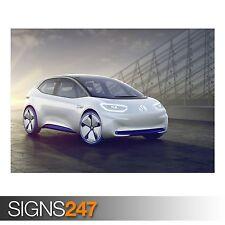 ID de Volkswagen Motor de París (9181) cuadro arte cartel impresión de foto A0 A1 A2 A3 A4