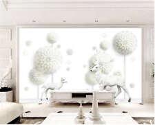 Whole Pure Circle 3D Full Wall Mural Photo Wallpaper Printing Home Kids Decor
