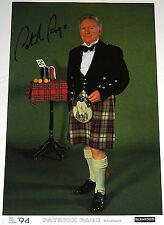 Autographed: Patrick Page Poster