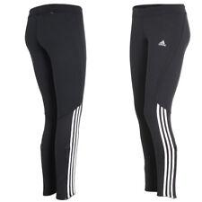 adidas Damen Hose Laufhose Running Tight Climalite Sporthose schwarz-weiß
