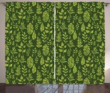Sage Curtains 2 Panel Set Decor 5 Sizes Available Window Drapes