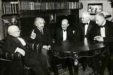 Poster, Many Sizes; W. Nernst, A. Einstein, M. Planck, R.A. Millikan And Von Lau