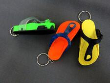 ��GREAT GIFT��Mini Flip Flop Key Chain w LED Flashlight - Three Colors