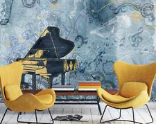 3D Pianoforte 44 Parete Murale Foto Carta da parati immagine sfondo muro stampa
