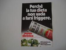 advertising Pubblicità 1978 OLIO DI SEMI OIO