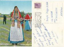 Cartolina Rara  COSTUMI SARDI  - CAGLIARI