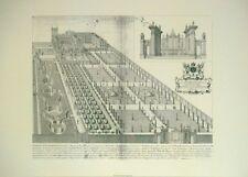 Ariel stampa Stampa storica-Collegio Trinitas 49x70cms VINTAGE LATINO STAMPA