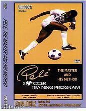 PELE SOCCER INSTRUCTIONAL TRAINING VIDEO - DVD or VHS