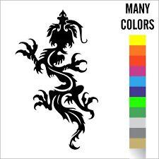 Dragon Vinyl Car Truck Decals, Lap Top Sticker Graphics Choice of Colors