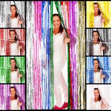 Lametta Tür Vorhang 2x1 m, verfügbar in verschiedenen Farben, ideale Party Deko