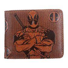 Marvel DC Avengers Leather Zipper Coins Wallet Short Bi-fold Card Holder Purse