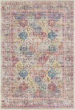 United Weavers Multi-Color Contemporary Blocks Area Rug Geometric 713 20675