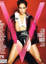 V Magazine #76 JENNIFER LOPEZ Lara Stone STEPHANIE SEYMOUR Adriana Lima @NEW@